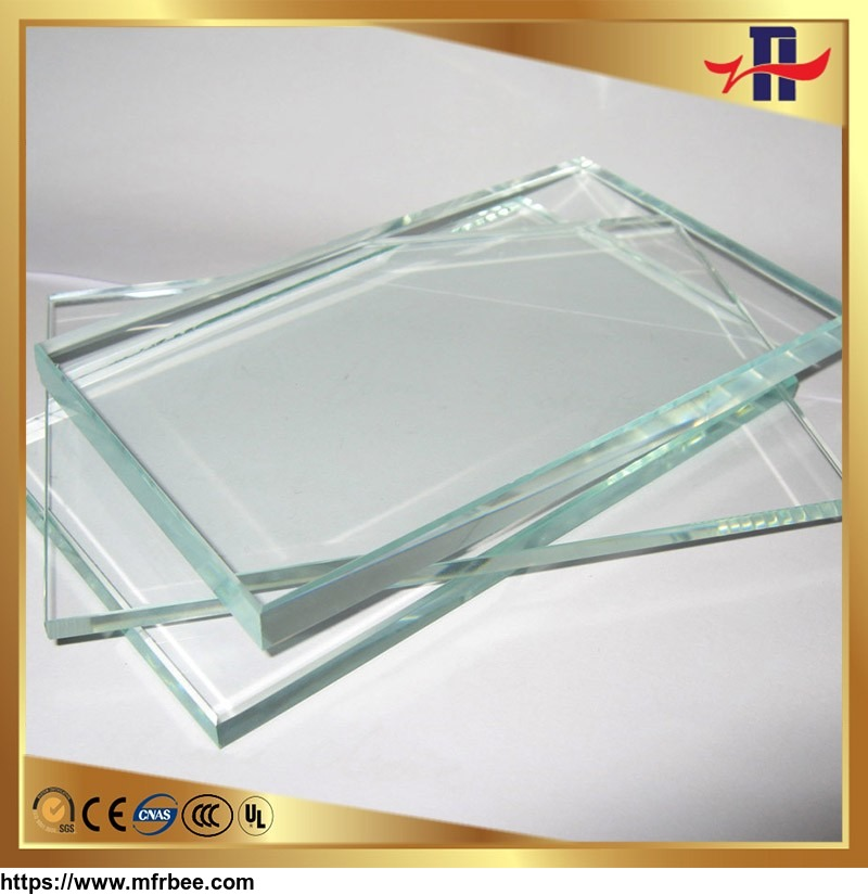 2mm-19mm extra clear, tinted ultra float glass