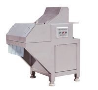 Factory price high capacity industry use frozen meat cutter manufacturer
