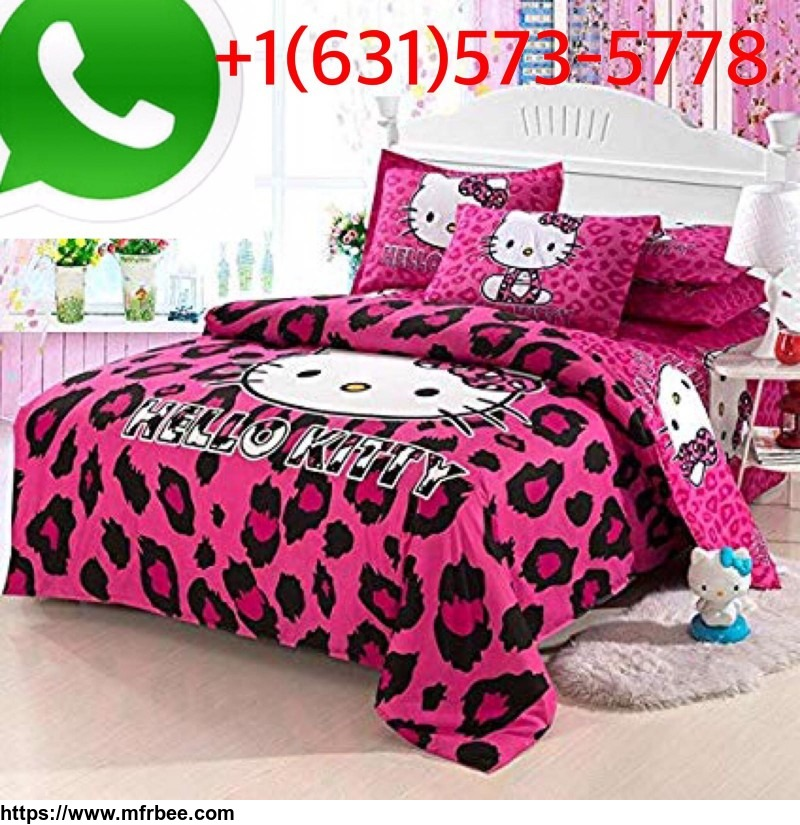 Hello Kitty and Friends 4 pc Toddler Bedding Set, Pink