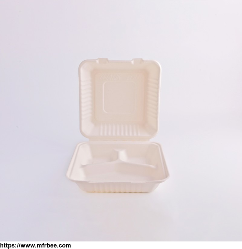 sugarcane_pulp_box_lunch_bagasse_biodegradable_food_container