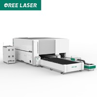 New style metal fiber laser cutting machine with factory frice