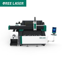 Easy operation CNC fiber laser cutting machine for sheet metal andf tube metal