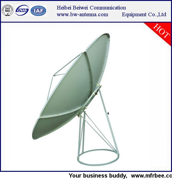 c band prime focus satellite dish antenna