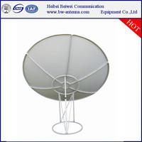 c band 180cm satellite antenna