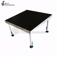 Manufacturer Supplier Cheap Material Portable Aluminum Frame Temporary Modular Stage Concert Event