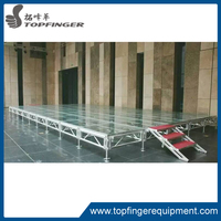Cheap Price Mini Adjustable Folding Outdoor Event Wedding Aluminum Used Mobile Portable Stage Platform For Sale