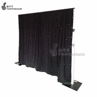 Cheap Adjustable Wedding Backdrop Stand Pipe And Drape For Sale