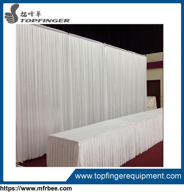 stands 2.0 cheap aluminum backdrop pipe and drape for wedding