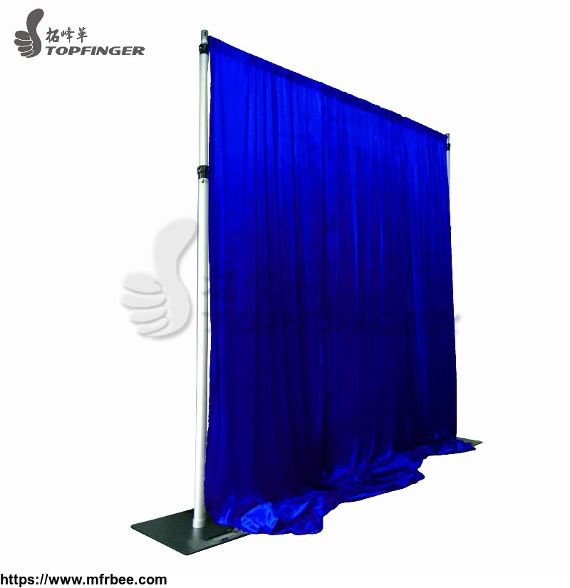 Stand Draping Receptions Trade Show Curtain Pipe And Drape Booth On Walls For Wedding