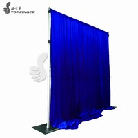 more images of Stand Draping Receptions Trade Show Curtain Pipe And Drape Booth On Walls For Wedding