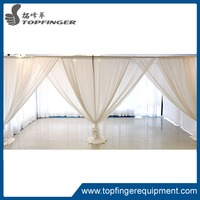 Aluminum cheap wedding backdrop pipe and drape frame