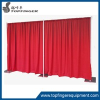 more images of TFR wedding backdrop telescopic drape support pipe and drape system