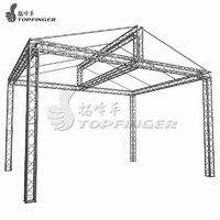 Photo Booth Outdoor Display Exhibition Aluminum Frame Plastic Screw Smart Special Tent Small Stage Lighting Canopy Truss System