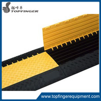 5 4 3 2 Channel And Heavy Duty Ramp Yellow Jacket Guard Humps De Car Plastic Ramps Rubber Cable Protector