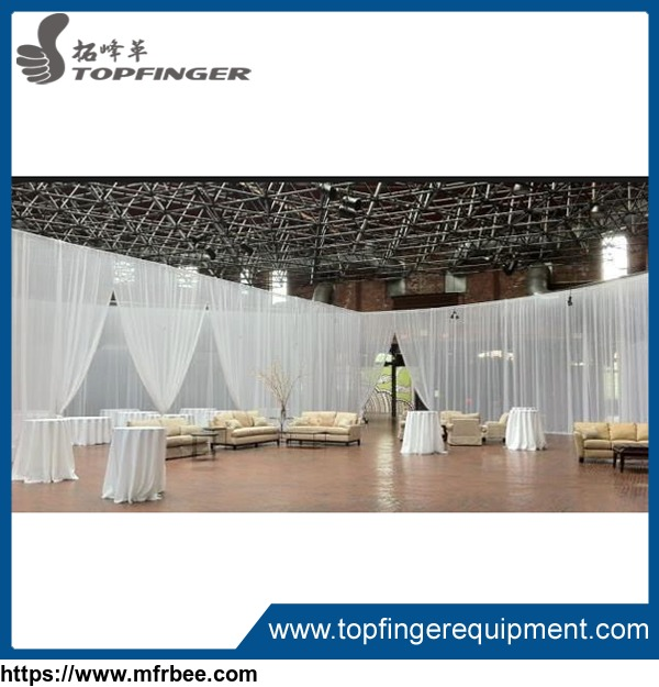 Mandap Wedding Backdrop Pipe Drape Design For event