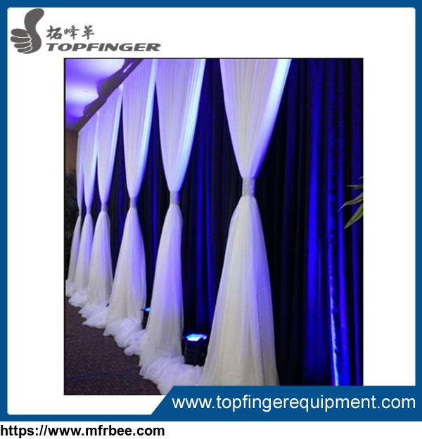 6'-10' Adjustable Crossbar Chuppah Backdrop Poles Wedding