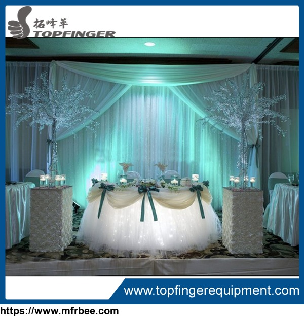 Wholesale pipe and drape kits for wedding backdrop