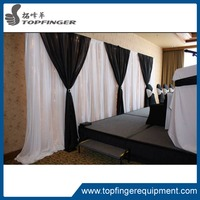 more images of Cheap Adjustable Wedding white Backdrop Stand Pipe And Drape For Sale