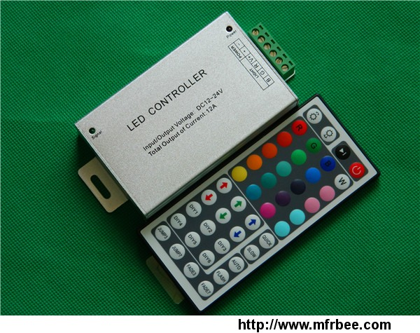 high_power_44keys_12v_24a_288w_aluminum_rf_rgb_controllers