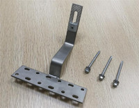 Pitched roof solar mounting system/Roman tile roof hook