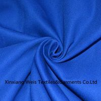 Royal Blue Plain Fire Retardant cotton Fabric / Flame Resistant Textiles Light Weight