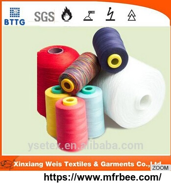 YSETESX Hot sale 100% aramid fire retardant sewing thread with high quality