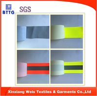fire fighting reflective warning tape for firefighting uniform