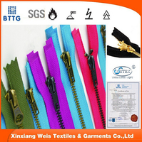 FR flame retardant aramid zipper for FR coverall