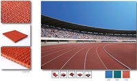 Flystep Environmental eco-friendly cheap price EPDM granules rubber athletics running floor tracks