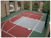 prefabricated rubber tennis basketball badminton volleyball sport court flooring roll