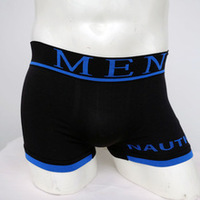 Plain Men Boxer Shorts Free Sample Seamless Underwear