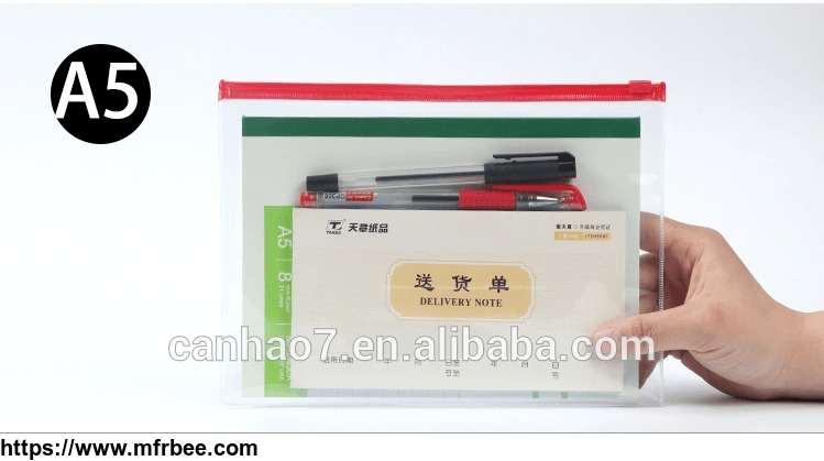 document_file_cosmetic_package_a5_clear_pvc_bag