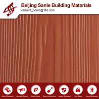 more images of multi-color waterproof wood grain imitation fiber cement siding panels