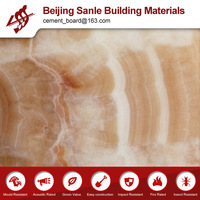 Luxurious multi-color vivid texture marble imitation fiber cement board
