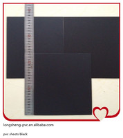 high quality pvc sheets black for cards
