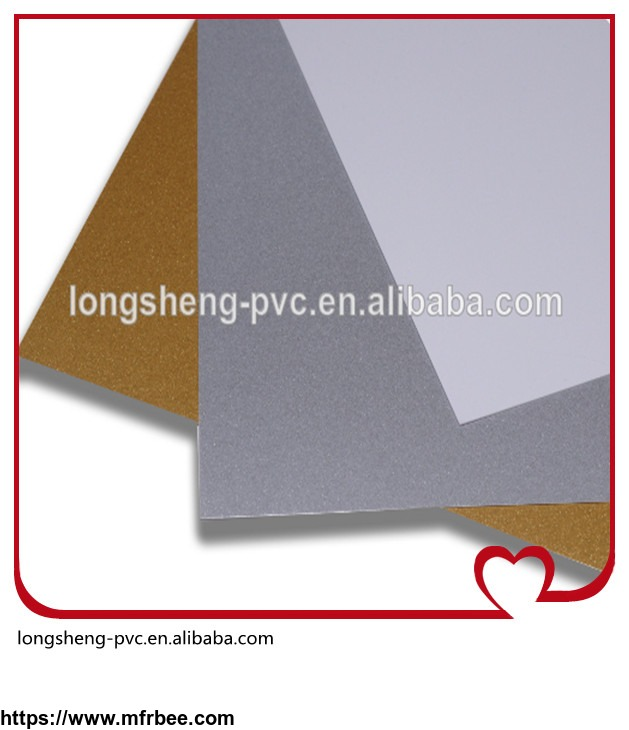 white_gold_and_silver_inkjet_pvc_sheet_for_cards_from_longsheng