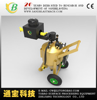 DB150 dustless blasting machine/water type sandblasting pot