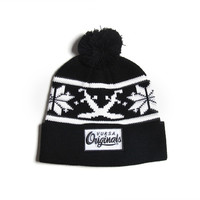 100% acrylic or wool beanie with embroidery logo
