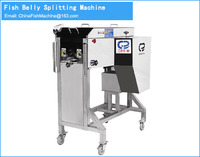 Fish fillet cutting machine Catfish-Mackerel-Salmon-Flounder-Trout-Tilapia