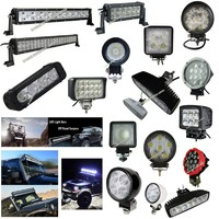 Car accessory 51W led work light search light for ATV/Truck/Tractor 4x4 off road