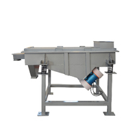 sand sieving linear vibrating screen machine