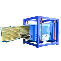 Square Swing Gyratory Sifter Machine For Granules