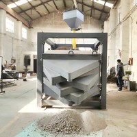 Square Gyratory Screener Sifter Machine For Granules or powder