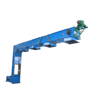 Multipoint particle z bucket elevator