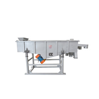 Quartz sand linear vibrating sieve machine for screening