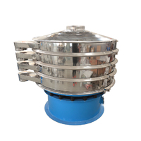 sugar sieving round vibro sifter machine