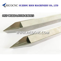 High Speed Steels V Cutter HSS Woodturning Tool CNC Lathe Knife