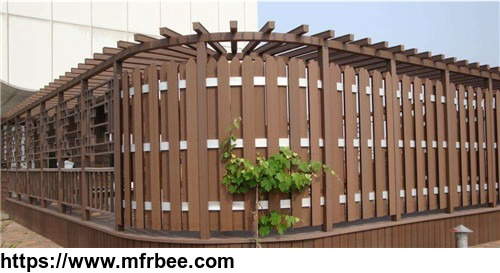 Hot sale Wholesale outdoor Heavy-Duty bamboo Wood fence supplier
