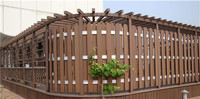 more images of Hot sale Wholesale outdoor Heavy-Duty bamboo Wood fence supplier