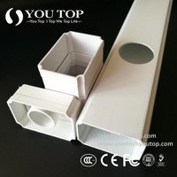 Hydroponic PVC Pipe Model:Rectangle Pipe120*70mmhydroponic grow tubes,pvc pipe hydroponics,hydroponic tubing,pvc hydroponics tower,vertical hydroponic